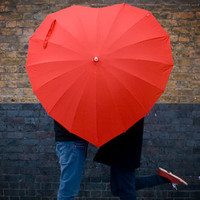 Heart Shaped Umbrella - buy at Firebox.com