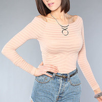 The Seamless Off The Shoulder Top in Rosette : Free People : Karmaloop.com - Global Concrete Culture