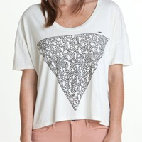 K.H. TRIANGLE OF FRIENDS CROP TEE