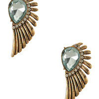 Embellished Wing Studs | FOREVER21 - 1000038917
