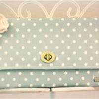 Polly Clutch {Handmade by Lw.}