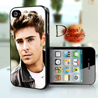 Zac Efron  iPhone 4S and iPhone 4 Case Cover by DanazDesigns