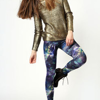 Rochelle Tie Dye Paint Splash Leggings