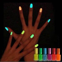 New 6 Colour 7ml Fluores...