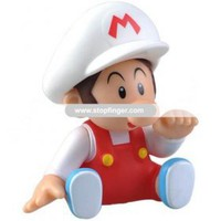 Cute Super Mario Figure Display Toy Cartoon Doll Collection -Baby Mario--Vicki-Stop Finger Mall -  Welcome - Wholesale Lots Mall