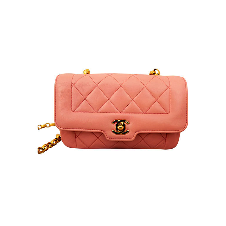 Chanel - Chanel Pink Quilted Lambskin Mini Flap Bag