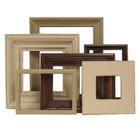 Picture Frame Set Art Photography Picture Frames Brown Cream Neutral Rustic Home Decor