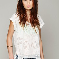 Free People Bold and Beautiful Burnout Tee