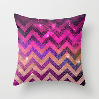 *** PARTY CHEVRON *** Throw Pillow by M✿nika  Strigel	 | Society6 in three sizes !!!