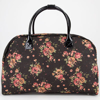 Canvas Floral Duffle Bag 209165100 | Luggage | Tillys.com