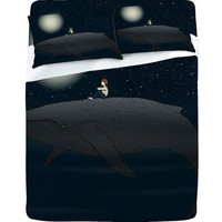 Brandon Dover Midnight Burst Sheet Set