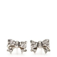 /designer-jewelry/earrings for women/pave-bow-stud-earrings