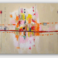 Large Original Abstract Painting by Christina by ChristinaRomeo