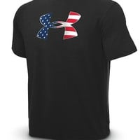 Men's Big Flag Logo UA Tech™ Shortsleeve T-Shirt Tops by Under Armour