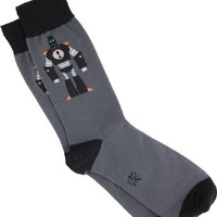 Sock It To Me Brining It Bot: Robot Men's Socks