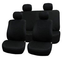 FH-FB050114 Flat Cloth Univerisal Car Seat Covers Black Color