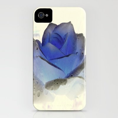 something blue... iPhone Case by A.rose | Society6