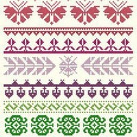 Turkish Sampler Cross Stitch Pattern | Los Angeles Needlework