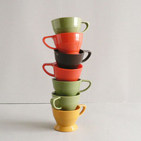 Vintage Solo Cups Set of Seven by thisOtherthing on Etsy