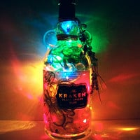 Bottle Light - Liquor Bottle Lamp - Lighted Bottles