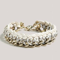 AEO Braided Chain Bracelet | American Eagle Outfitters