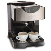 Mr. Coffee ECMP50 Espresso/Cappuccino Maker, Black