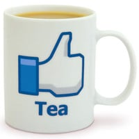 Social Network Like Mug - Tea