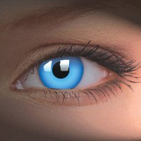 Amazon.com: iColor Complete Contact Lenses - Blue Out: Health &amp; Personal Care