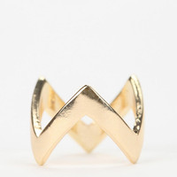Urban Outfitters - Zigzag Stackable Ring