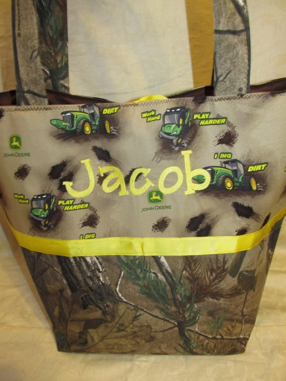 John Deere Diaper Bags : Handmade realtree camo camoflauge and from creative sewing