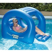 Amazon.com: Coolpod Sunshade Lounger Swimming Pool Float: Patio, Lawn &amp; Garden