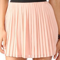 Pleated Chiffon Skirt | FOREVER 21 - 2017307233