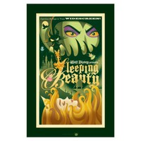 ''Sleeping Beauty'' Aurora and Maleficent Giclée | Giclees | Disney Store