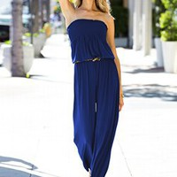 Smocked Jumpsuit - Victoria's Secret