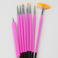 NPW 8 Piece Nail Art Brushes and Tools
