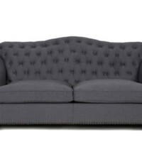 One Kings Lane - Casual Home - Bardot Sofa, Charcoal