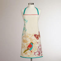 Blue Bird Apron