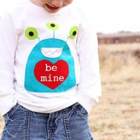 Boy?s Monster Valentine?s Day Shirt (template included) | Make It and Love It