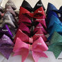 Glitter Key Chain Cheer Bow Cheerleading