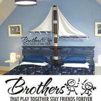 Kids Room Pirate Decal BrothersThat Play Together by ModernDecals