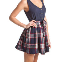 Soul Cal Deluxe Check Button Dress from just £25.00 - Soul Cal Deluxe from Republic: great styles and great prices.