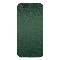 Rich Emeral Green iPhone 5 Case from Zazzle.com