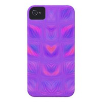 Girly Pink and Purple iPhone 4 Case-Mate Cases from Zazzle.com