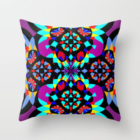 Mix #159 Throw Pillow by Ornaart | Society6