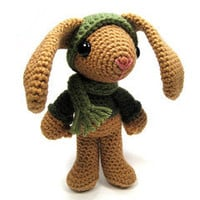 Buy Sheldon the Rabbit pattern - AmigurumiPatterns.net