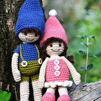 Buy G. and L. Elves pattern - AmigurumiPatterns.net