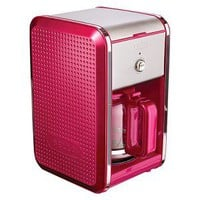 Bella Dots 12 Cup Coffee Maker - Fushia Pink