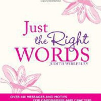 StefsBookNews - Just the Right Words: Over 400 Messages and Motifs for Cardmakers and Crafters