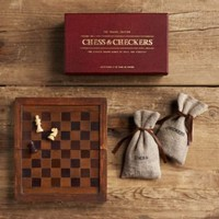 Mini Chess  Checkers | Mini Chess  Checkers | Restoration Hardware
