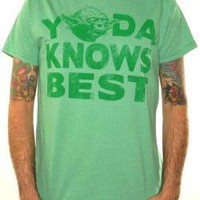 ROCKWORLDEAST - Star Wars, T-Shirt, Yoda Knows Best